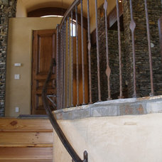 Traditional Staircase by Grizzly Iron, Inc