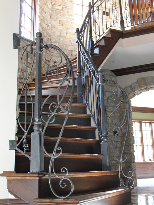 Aesthetic Staircase Railing Designs Amazing Ideas: More Railings By Maynard Studios