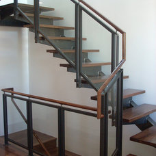 Eclectic Staircase by Five Twenty Two Industries