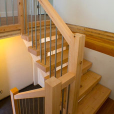 Modern Staircase by Marken Design + Consulting