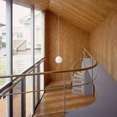 Contemporary Staircase Rainy Sunny