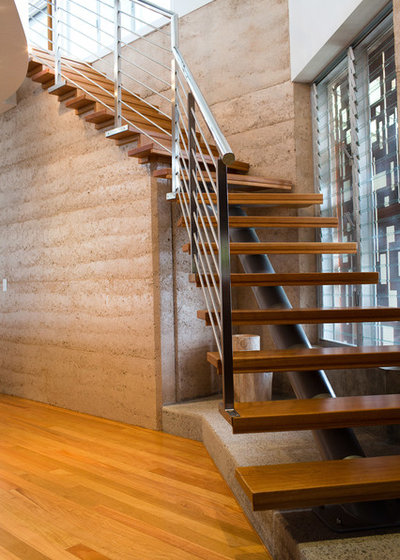 Contemporary Staircase by Adrian Ramsay Design House