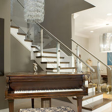 Contemporary Staircase by Ramos Design Build Corporation - Tampa