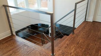 Rampes intérieures en acier inox / Stainless steel internal ramps