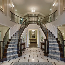 Contemporary Staircase by Mary Cook