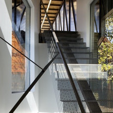 Contemporary Staircase by Randy Brown