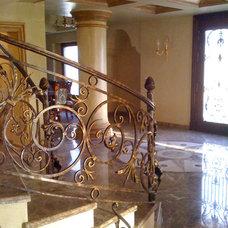 Contemporary Staircase by Rania Ramzi