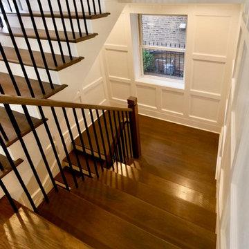 Ravenswood 2-flat to single family conversion