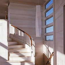 Contemporary Staircase by r.e.a.l.  ronald evitts architect llc