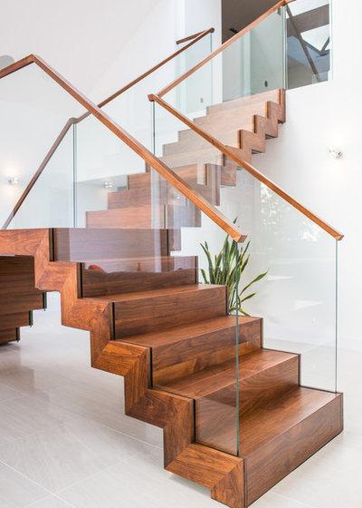 Modern Treppen by Graham Johnston