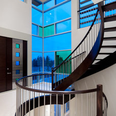 Contemporary Staircase by blurrdMEDIA