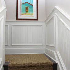 Traditional Staircase by Trim Team NJ