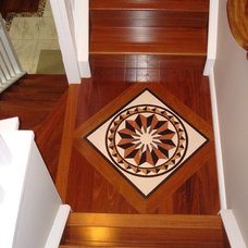 Traditional Staircase by Daya Hayer