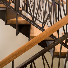 Contemporary Staircase by FINNE Architects