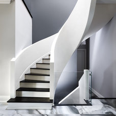 Contemporary Staircase by UED Studio