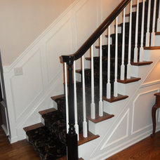 Traditional Staircase Redo of Foyer staircase