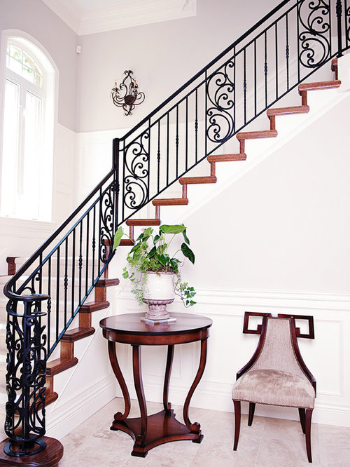 Iron Stair Railing Home Design Ideas Pictures Remodel  : 0ed1a7f20081bf999974 w500 h666 b0 p0 victorian staircase from www.houzz.com size 500 x 666 jpeg 80kB