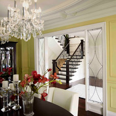 Traditional Staircase by Regina Sturrock Design Inc.