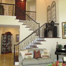 Eclectic Staircase by Suzanne O'Brien
