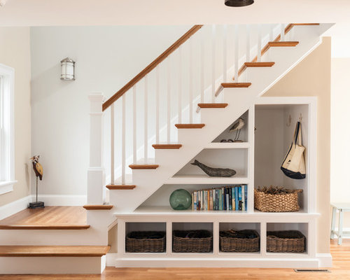 Beach Style Staircase Design Ideas Remodels Photos