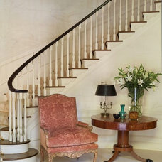 Traditional Staircase by Andrew Skurman Architects