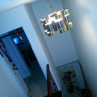 Rescued 2 awesome MCM Curtis Jere Type Chandeliers from a large home in Toronto.