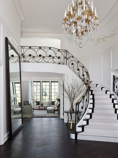 Luxury staircase houzz for Luxury staircase