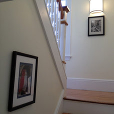 Traditional Staircase by Mary McKee Design