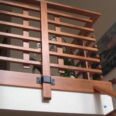 Craftsman Staircase by Haxton design-build llc