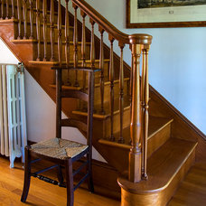 Traditional Staircase by Joel Gross Architectural & Residential Photography