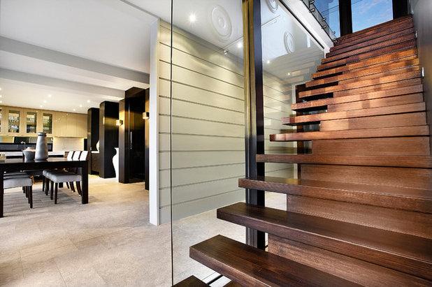 Contemporary Staircase by Bagnato Architecture & Interiors