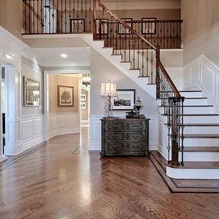 Idéer för en klassisk trappa