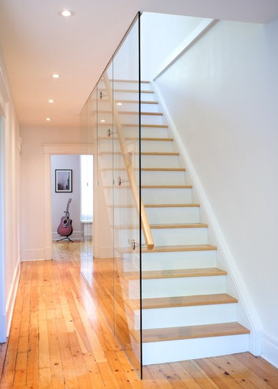 Modern Staircase by Andrew Ross Photography