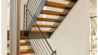 Residential interior staircase