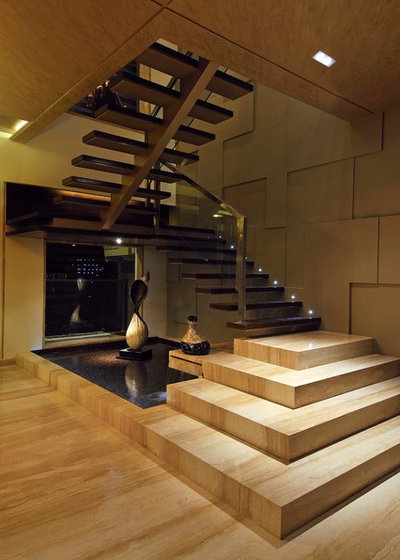 Contemporary Staircase by fsnd