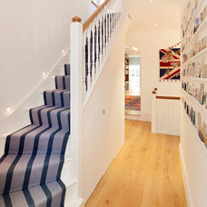 Traditional Staircase by Hill Mitchell Berry Architects
