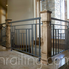 Traditional Staircase by SN Custom Railing, Inc