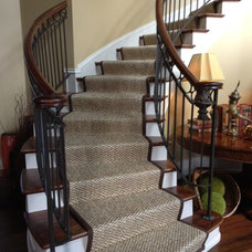 Traditional Staircase by Foyers And Beyond Custom Flooring And Windows