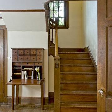 Restored Foyer Stairs