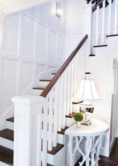 Contemporary Staircase by Omega Lighting & Design