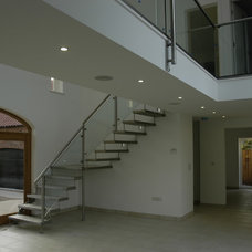 Modern Staircase by Rhoco