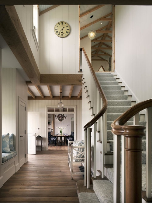 treppen in l form mit teppich treppenstufen ideen f r treppenaufgang treppenhaus houzz. Black Bedroom Furniture Sets. Home Design Ideas