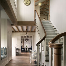 Beach Style Staircase by David Scott Parker Architects Llc