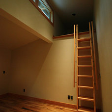 Contemporary Staircase by Hammer & Hand