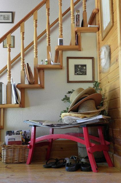 Farmhouse Staircase by Sarah Greenman