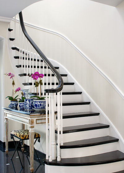 Traditional Staircase by Northworks Architects in addition to Planners