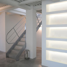 Industrial Staircase by Ghirardelli Architetti