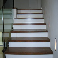 Modern Staircase by Rina Magen