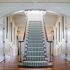 Traditional Staircase by Historical Concepts