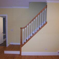 Traditional Staircase by Thomas Patrick Walls Company